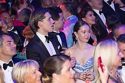 Princess Alexandra of Hanover and Ben-Sylvester Strautmann attend the Rose Ball 2019 at Sporting in Monaco, Monaco. Photo by Palais Princier/Olivier Huitel/SBM/ABACAPRESS.COM