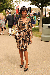 BEVERLEY KNIGHT at the third day of the 2010 Glorious Goodwood racing festival at Goodwood Racecourse, Chichester, West Sussex on 29th July 2010.