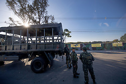 Military security around the equestrian venue<br /> Olympic Games Rio 2016<br /> © Hippo Foto - Dirk Caremans<br /> 13/08/16