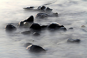 stubborn rocks in water