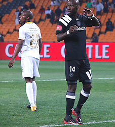 Musa Nyatama in a match between Orlando Pirates  and Cape Town City at  Fnb Stadium on Tuesday September 19, 2017.