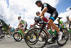 02.07.2013, Osttirol, AUT, 65. Oesterreich Rundfahrt, 3. Etappe, Heiligenblut - Matrei in Osttirol, im Bild Xabier Zandio Echaide (SPA, SKY Procycling GBR) // during the 65 th Tour of Austria, Stage 3, from Heiligenblut to Matrei, Tyrol, Austria on 2013/07/02. EXPA Pictures © 2013, PhotoCredit: EXPA/ Johann Groder