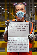 Inside Amazon MAN 3 Fulfilment Center.  Worked at Amazon  for 19mths, from Little Hulton, Manchester.