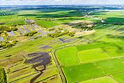 Nederland, Utrecht, Gemeente De Ronde Venen, 28-04-2017; natuurgebied Botshol met Kleine en Grote Wije en riviertje De Waver.<br /> Nature area south of Amsterdam.<br /> <br /> luchtfoto (toeslag op standard tarieven);<br /> aerial photo (additional fee required);<br /> copyright foto/photo Siebe Swart