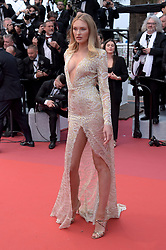 Romee Strijd attending the opening ceremony and premiere of The Dead Don't Die, during the 72nd Cannes Film Festival.