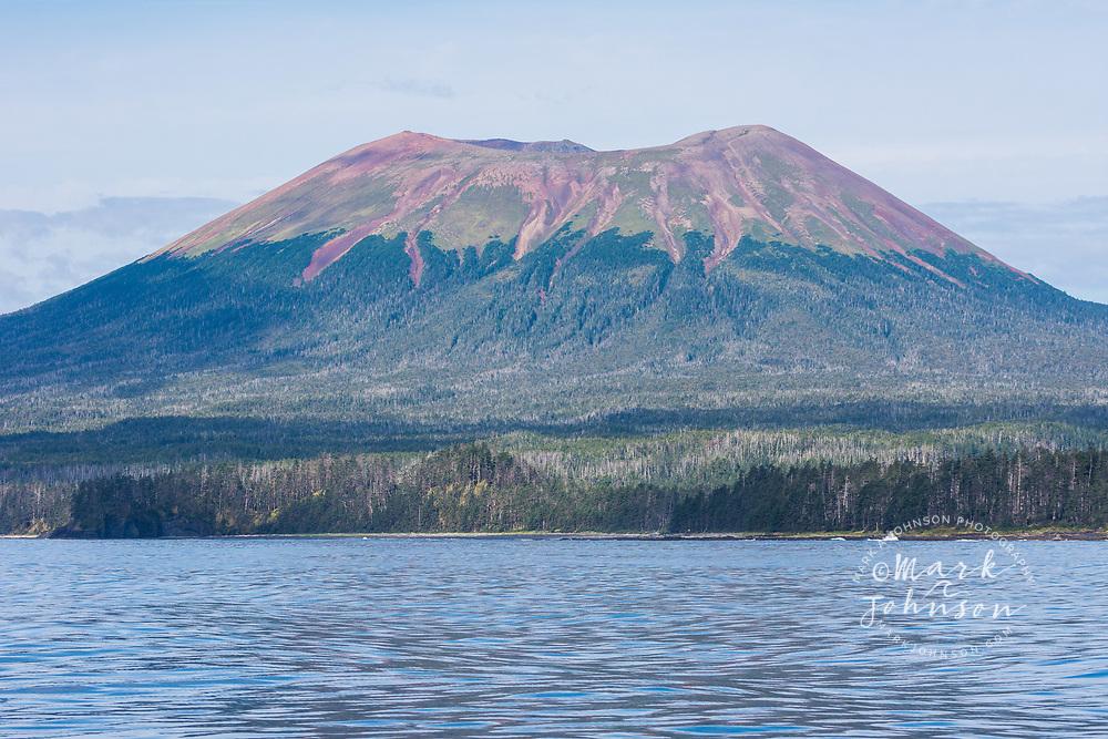 Mt Edgecumbe, Kruzof Island, Alaska, USA
