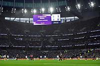 Football - 2019 / 2020 Premier League - Tottenham Hotspur vs. Brighton & Hove Albion<br /> <br /> Tottenham Hotspur's Harry Kane has his goal disallowed for offside, at The Tottenham Hotspur Stadium.<br /> <br /> COLORSPORT/ASHLEY WESTERN