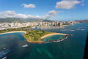 Magic Island, Waikiki, Honolulu, Oahu, Hawaii