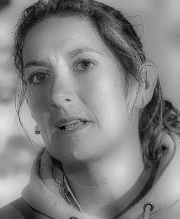 Dee Caffari<br /> Turn the Tide on Plastic<br /> <br /> Pressconference<br /> Volvo Ocean Race Newport