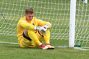 Hawke's Bay United's Mackenzie Waite is dejected after letting through a goal in the Handa Premiership football match, Hawke's Bay v Canterbury, Bluewater Stadium, Napier, Sunday, October 28, 2018. Copyright photo: Kerry Marshall / www.photosport.nz