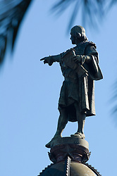 Statue of Christopher Columbus Mirador de Colom