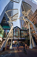 Stephen Avenue Galleria Trees Sculpture