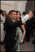 OSMAN YOUSEFZADA; VALERIA NAPOLEONE; , The Launch of OSMAN the Collective No.3, hosted by Valeria Napoleone, Kensington. 15 May 2014.