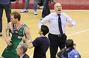 DESCRIZIONE : Milano Coppa Italia Final Eight 2014 Quarti Acqua Vitasnella Cantù Grissin Bon Reggio Emilia<br /> GIOCATORE : <br /> CATEGORIA : mani esultanza post game allenatori coach<br /> SQUADRA : Grissin Bon Reggio Emilia<br /> EVENTO : Beko Coppa Italia Final Eight 2014 <br /> GARA : Acqua Vitasnella Cantù Grissin Bon Reggio Emilia<br /> DATA : 07/02/2014 <br /> SPORT : Pallacanestro <br /> AUTORE : Agenzia Ciamillo-Castoria/N.Dalla Mura<br /> GALLERIA : Lega Basket Final Eight Coppa Italia 2014 FOTONOTIZIA : Milano Coppa Italia Final Eight 2014 Quarti Acqua Vitasnella Cantù Grissin Bon Reggio Emilia