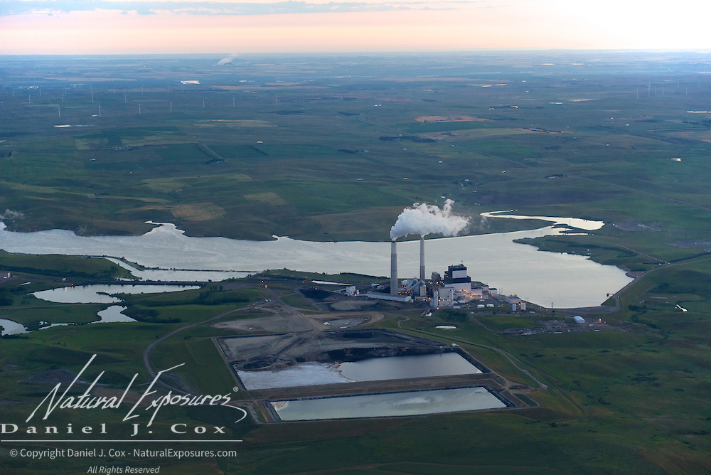 Coal fired power plant in North Dakota.
