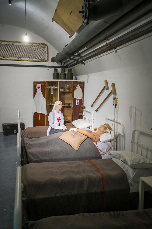 World War II German underground hospital - Jersey War Tunnels - Hohlgangsanlage 8 in Jersey, Channel Isles
