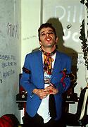 Ian Dury backstage London 1979