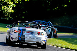 Gary Mitchell pictured while competing in the BRSCC Mazda MX-5 SuperCup Championship. Picture taken at Cadwell Park on August 1 & 2, 2020 by BRSCC photographer Jonathan Elsey