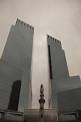 The Time Warner Buildings in New York City
