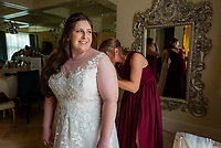 Pheadra Zachary wedding, at Sterling Hotel Saturday, November 16, 2019.<br /> Photo Brian Baer