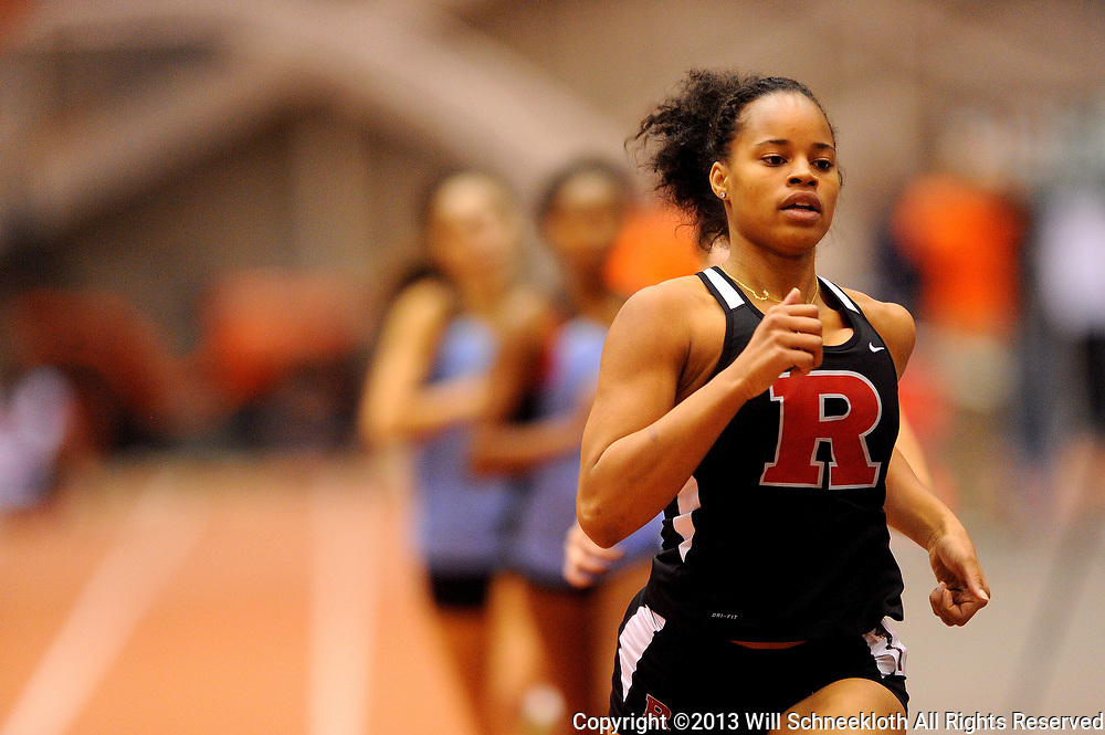 Rutgers Track and Field competes at the New Years Invitation on Dec. 7, 2013 at Jadwin Gymnasium in Princeton, New Jersey.