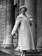 Fashions at Parnell Square, Dublin, Ireland. 04/02/1958 .
