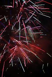 Firework display to celebrate Diwali; festival of light,
