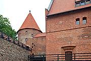 Bytów, 2011-07-08. Mury XIV-wiecznego zamku krzyżackiego