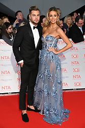 Chris Hughes and Olivia Attwood attending the National Television Awards 2018 held at the O2, London. Photo credit should read: Doug Peters/EMPICS Entertainment
