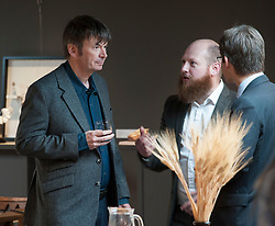 'Rebus' creator Ian Rankin after the author opened Scotland's newest distillery at Lindores Abbey in Fife, which is on the site of the earliest recorded distillation of whisky over 500 years ago.<br /> © Dave Johnston/ EEm