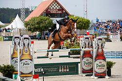 DUFFY Michael G (IRL), Ugo de la Tour Vidal<br /> Hagen - Horses and Dreams meets the Royal Kingdom of Jordan 2018<br /> Finale Mittlere Tour<br /> 29. April 2018<br /> www.sportfotos-lafrentz.de/Stefan Lafrentz