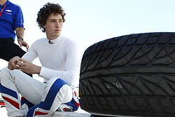 February 9, 2018 - Avondale, Arizona, United States of America - February 08, 2018 - Avondale, Arizona, USA: Matheus Leist (4) hangs out on pit road while his team works on his car during  the Prix View at ISM Raceway in Avondale, Arizona. (Credit Image: © Justin R. Noe Asp Inc/ASP via ZUMA Wire)