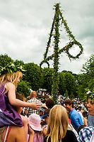 Celebrating Midsummer in Stockholm