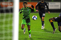 Odin Bailey of Forest Green Rovers shoots at goal- Mandatory by-line: Nizaam Jones/JMP - 14/11/2020 - FOOTBALL - innocent New Lawn Stadium - Nailsworth, England - Forest Green Rovers v Mansfield Town - Sky Bet League Two