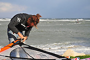 Israel, Haifa, Storm Rider Windsurfing competition 25 January 2010