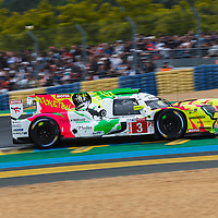 #3,  Rebellion Racing, Rebellion R13- Gibson, LMP1, driven by: Thomas Laurent, Nathanael Berthon, Gustavo Menezes on 15/06/2019 at the Le Mans 24H 2019