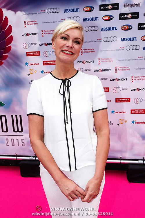 NLD/Amsterdam/20150629 - Uitreiking Rainbow Awards 2015, Cindy Pielstroom