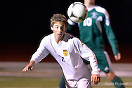 Strongsville at Avon high school boys varsity soccer on October 22, 2014. Images © David Richard and may not be copied, posted, published or printed without permission.