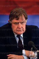 Sir Bernard Ingram.Former chief press secretary to Prime Minister Margaret Thatcher between 1979 and 1990. Photograph by Terry Fincher  May 1990