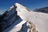 Eiger Summit in snow. Top Of Europe. Bernese Oberland, swiss Alps, Switzerland. .<br /> <br /> Visit our SWITZERLAND  & ALPS PHOTO COLLECTIONS for more  photos  to browse of  download or buy as prints https://funkystock.photoshelter.com/gallery-collection/Pictures-Images-of-Switzerland-Photos-of-Swiss-Alps-Landmark-Sites/C0000DPgRJMSrQ3U