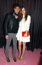 JAMIE HINCE and  at a dinner hosted by Harpers Bazaar to celebrate the launch of the fragrance Flowerbomb by Viktor & Rolf held at Elms lester, Flitcroft Street, London WC2 on 31st May 2006.<br />