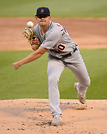 CHICAGO - JULY 03:  Tyler Anderson #70 of the Detroit Tigers pitches during the second game of a double headers against the Chicago White Sox on July 3, 2019 at Guaranteed Rate Field in Chicago, Illinois.  (Photo by Ron Vesely)  Subject:  Tyler Anderson