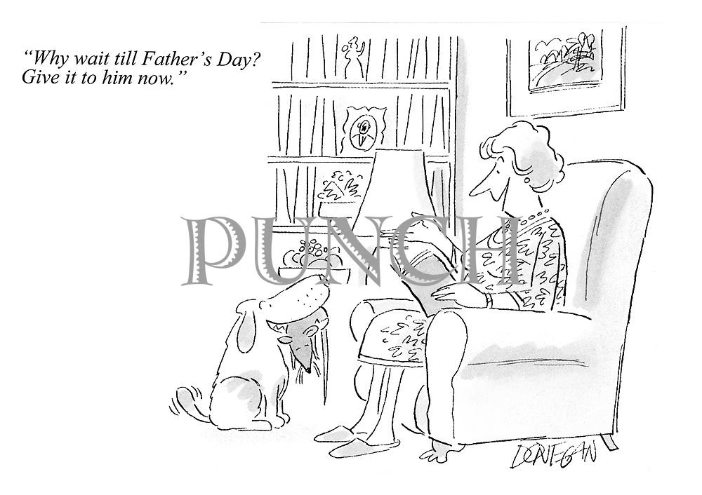 """""""Why wait till Father's Day? Give it to him now."""""""