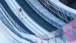 31.12.2016, Olympiaschanze, Garmisch Partenkirchen, GER, FIS Weltcup Ski Sprung, Vierschanzentournee, Garmisch Partenkirchen, Training, im Bild Domen Prevc (SLO) // Domen Prevc of Slovenia during his Practice Jump for the Four Hills Tournament of FIS Ski Jumping World Cup at the Olympiaschanze in Garmisch Partenkirchen, Germany on 2016/12/31. EXPA Pictures © 2016, PhotoCredit: EXPA/ Jakob Gruber