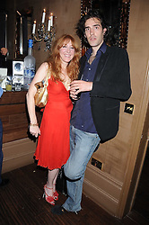 CHARLOTTE TILBURY and      at a party hosted by the Supper Club in honour of Mary Greenwell held at Beach Blanket Babylon, Ledbury Road, London on 25th June 2008.<br /><br />NON EXCLUSIVE - WORLD RIGHTS