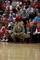 04 December 2004<br /> <br /> St. John's Norm Roberts and assistants.<br /> <br /> Illinois State Redbirds V St. Johns Red Storm Men's Basketball.  Redbird Arena, Illinois State University, Normal IL