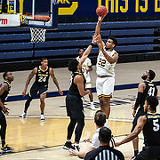 February 13 2021 Berkeley, CA  U.S.A. California forward Andre Kelly (22) shoots the ball in the second half during the NCAA Men's Basketball game between Colorado Buffaloes and the California Golden Bears 71-62 win at Hass Pavilion Berkeley Calif.  Thurman James / CSM