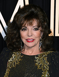 Joan Collins attending the BFI's Luminous fundraising gala, held at the Guildhall, London. Picture date: Tuesday October 3rd, 2017. Photo credit should read: Doug Peters/EMPICS Entertainment