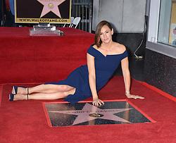 Jennifer Garner Star at the Jennifer Garner Honored With A Star On The Hollywood Walk Of Fame Ceremony on August 20, 2018 in Hollywood, CA. © Janet Gough / AFF-USA.com. 20 Aug 2018 Pictured: Jennifer Garner. Photo credit: MEGA TheMegaAgency.com +1 888 505 6342