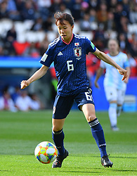 PARIS, FRANCE - during the FIFA Women's World Cup group D first round soccer match between Argentina and Japan at Parc des Princes Stadium in Paris, France on June 10, 2019. The FIFA Women's World Cup France 2019 will take place in France from 7 June until 7 July 2019. Photo by Christian Liewig/ABACAPRESS.COM